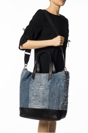 'm-mohican' denim shopper bag od Diesel