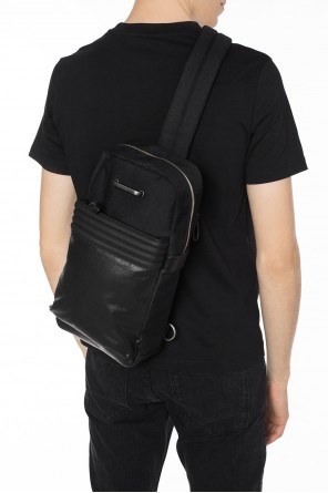 'm-proof' one-shoulder backpack od Diesel
