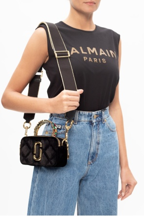 Velour shoulder bag od The Marc Jacobs