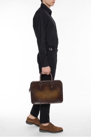 Un jour mini leather briefcase od Berluti