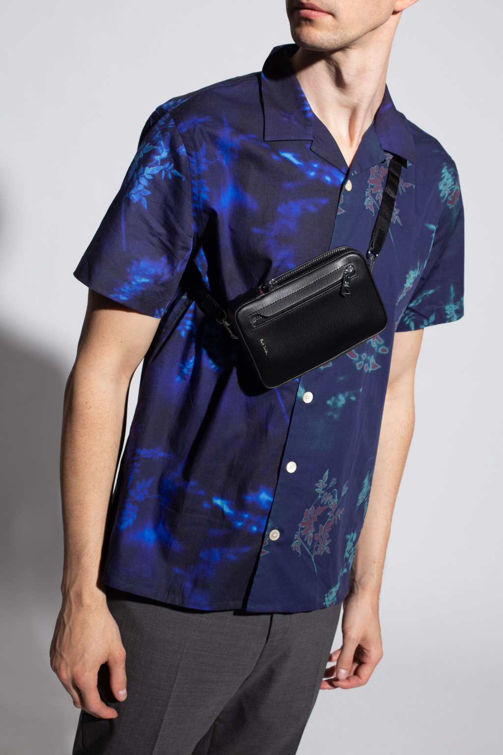 Paul Smith Leather neck pouch