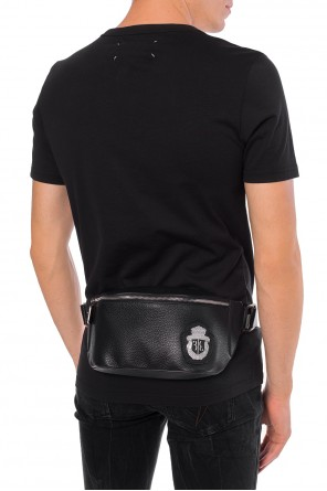 Metal logo belt bag od Billionaire