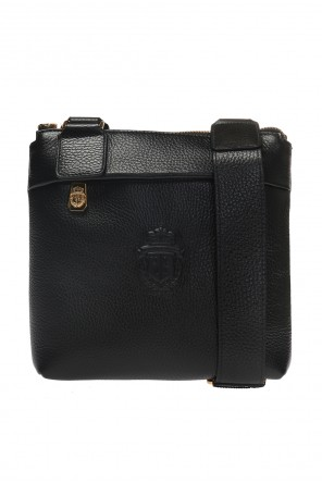 Shoulder bag with a logo od Billionaire