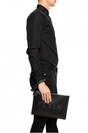 Branded clutch od Philipp Plein