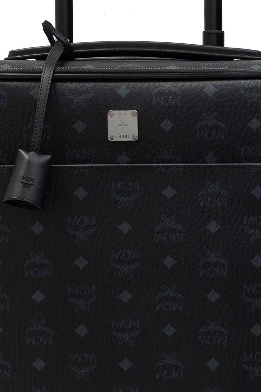 MCM Suitcase with rotating wheels