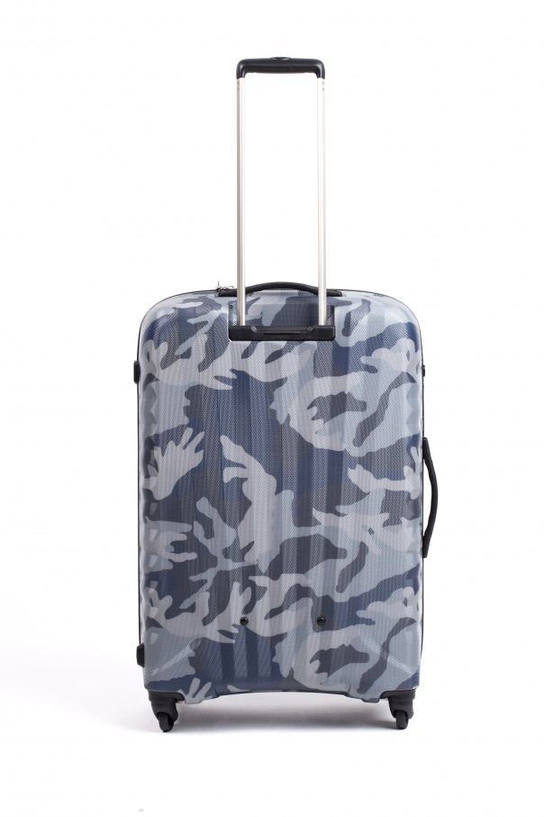 Camouflage pattern travel bag od Diesel
