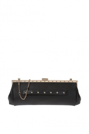 Studded clutch od Valentino Red