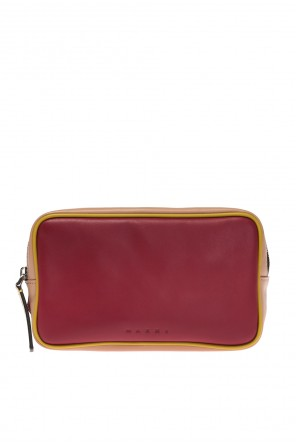 Logo-embossed belt bag od Marni