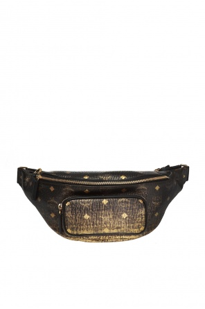 'fursten' belt bag with logo od MCM