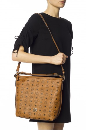 Printed shoulder bag od MCM