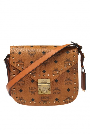 Patterned shoulder bag od MCM