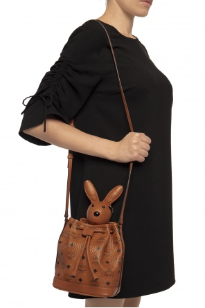 Rabbit shoulder bag od MCM