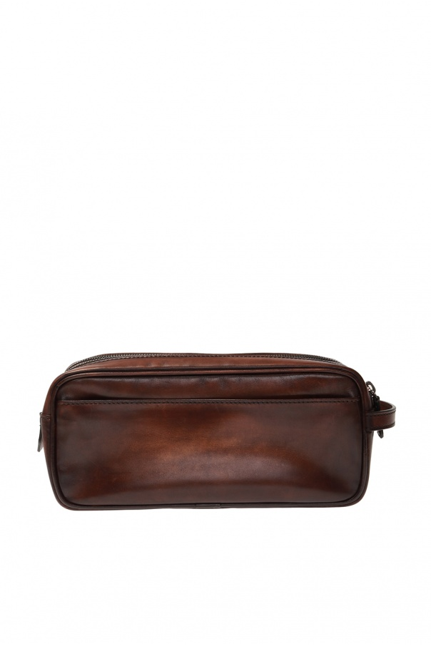 Berluti Leather wash bag
