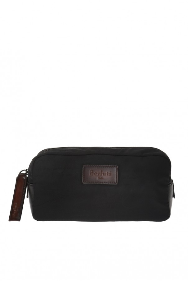 Berluti Branded wash bag