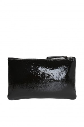 'nina' clutch with lettering od Jimmy Choo