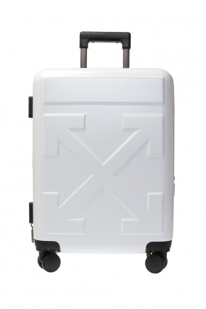 Suitcase with logo od Off White