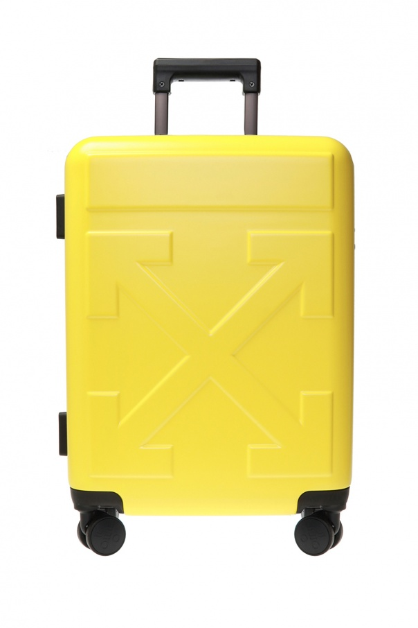 Off-White Suitcase with logo