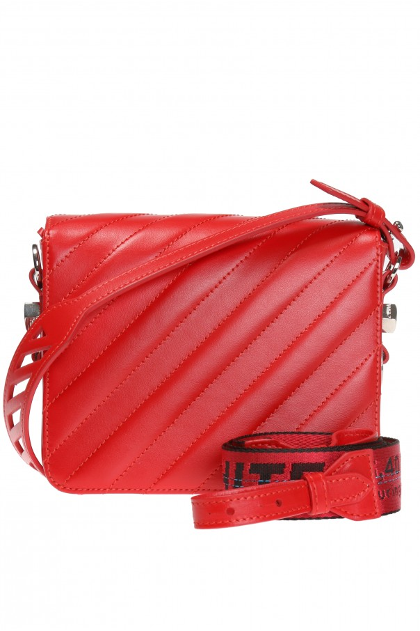 2a4375e64908 Binder Clip  shoulder bag Off White - Vitkac shop online