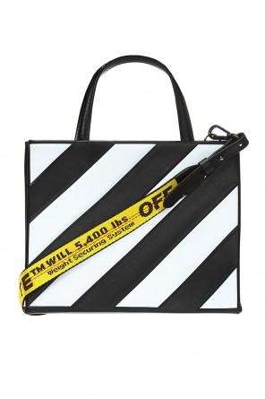 Shoulder bag with a striped pattern od Off White