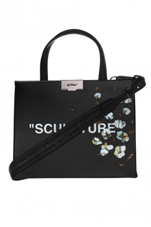 'sculpture' printed shoulder bag od Off White