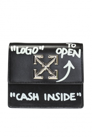 Belt bag with metal logo od Off White