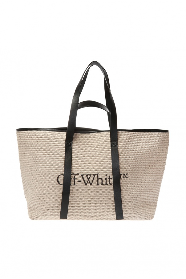 Pleciona torba typu 'shopper' od Off White