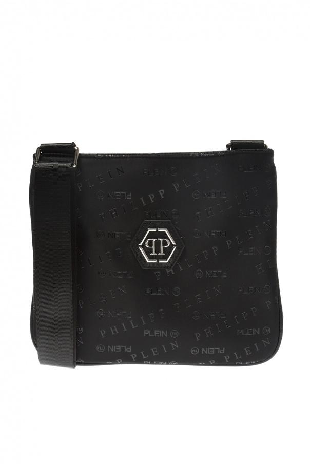 19d31c2ea5 Logo-patterned shoulder bag Philipp Plein - Vitkac shop online