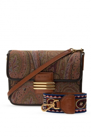 Shoulder bag with logo od Etro