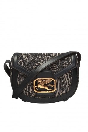 Branded shoulder bag od Etro
