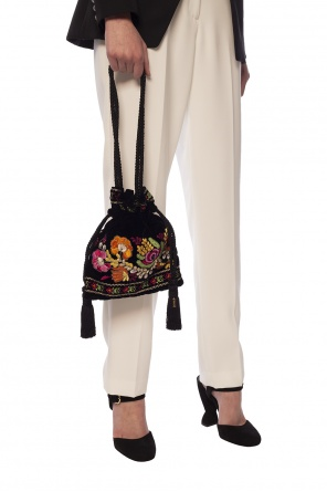 Velvet shoulder bag od Etro