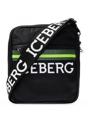 Shoulder bag with logo od Iceberg