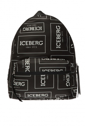 Backpack with logo od Iceberg