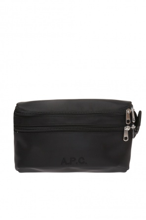 Logo-stitched belt bag od A.P.C
