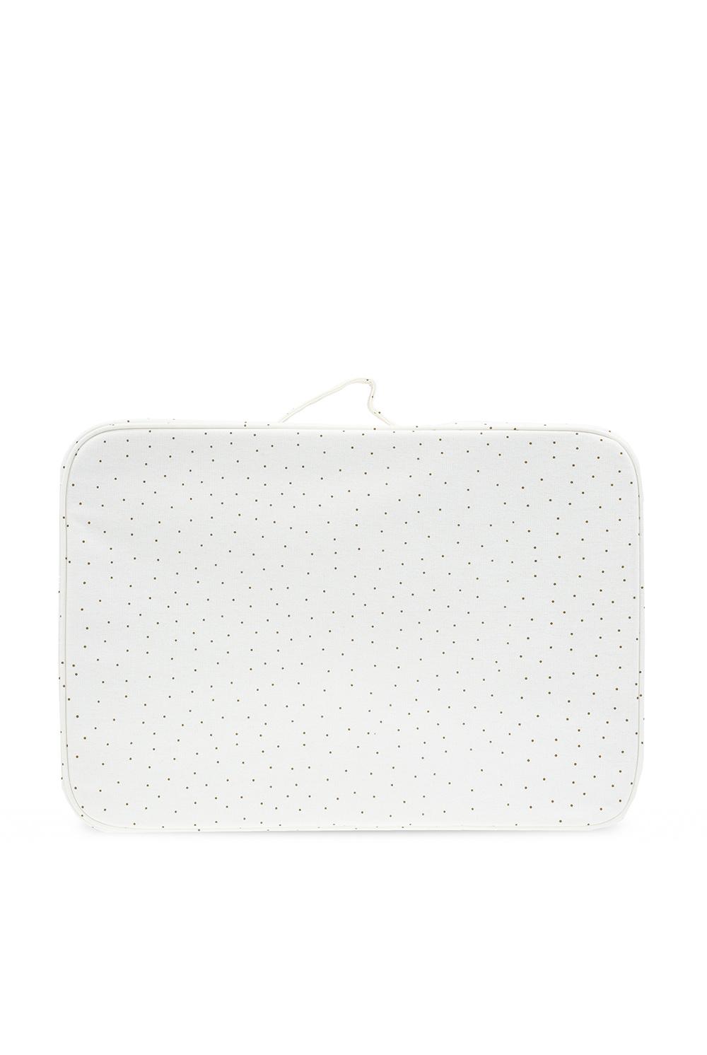 Bonpoint  Wash bag with logo