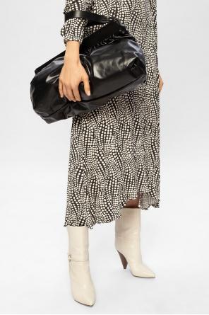 Wrinkled hand bag od Isabel Marant