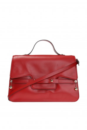 Shoulder bag with metal element   od Valentino Red