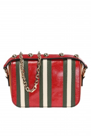 Striped shoulder bag od Valentino Red