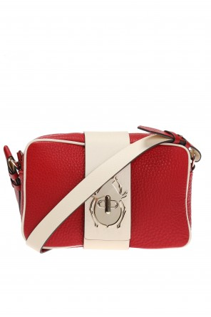 Beetle motif shoulder bag od Valentino Red