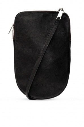 Leather shoulder bag od Rick Owens