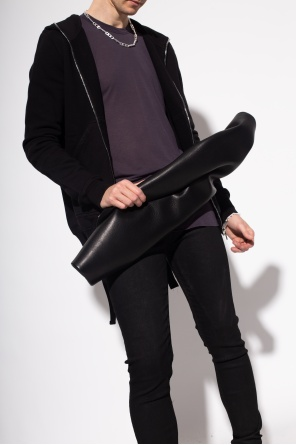 Leather belt bag od Rick Owens
