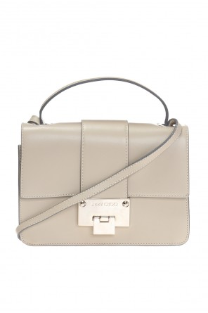 'rebel' leather shoulder bag od Jimmy Choo