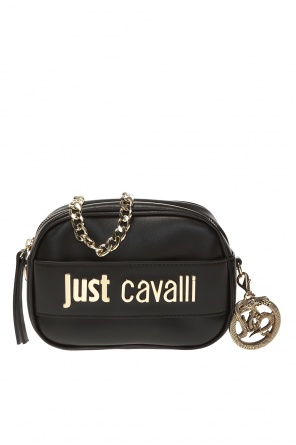 Bag with logo and chain od Just Cavalli