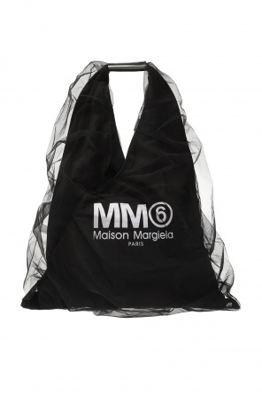 Logo-printed shoulder bag od MM6 Maison Margiela