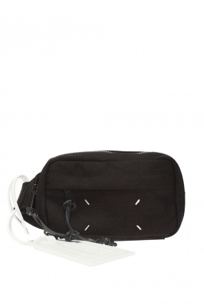 Belt bag with decorative charm od Maison Margiela