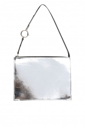 Two-coloured clutch od Maison Margiela