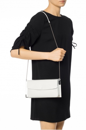 Shoulder bag with sheer insert od Maison Margiela