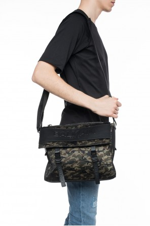 Camo shoulder bag od Balmain