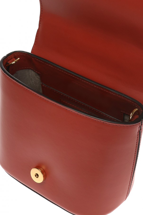 'pannier' shoulder bag with metal handle od Marni