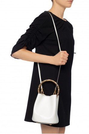 Decorative handle shoulder bag od Marni