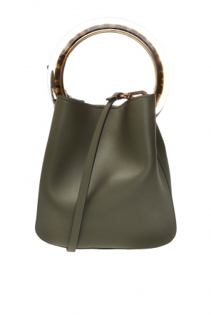 Shoulder bag with decorative handle od Marni